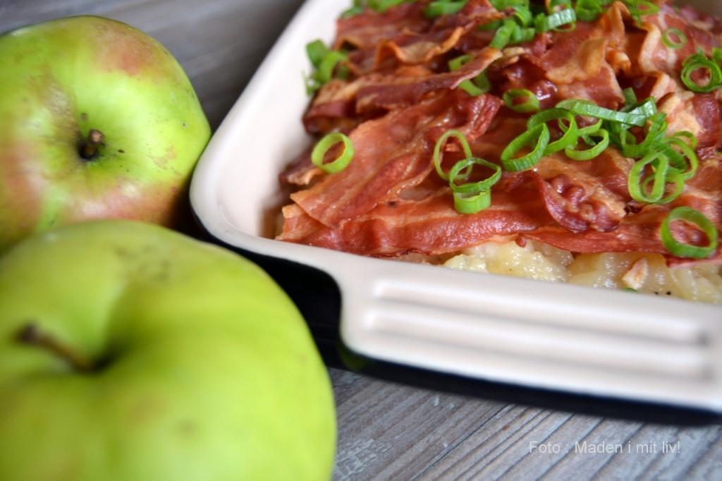 Æbleflæsk med timian…