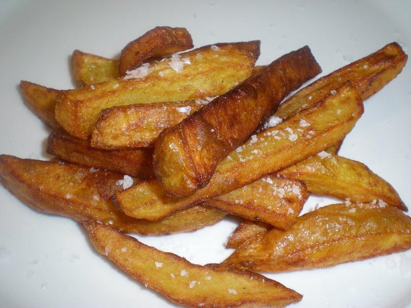 Hjemmelavede pommes frites…