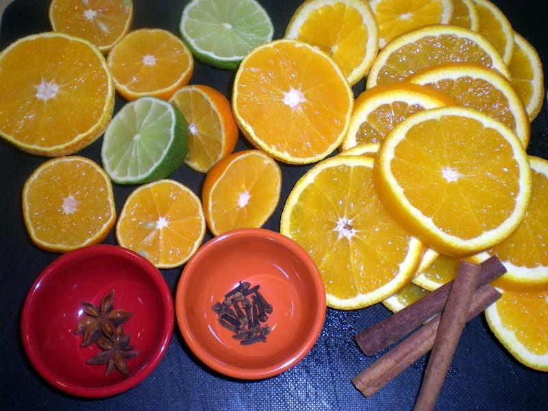 Hjemmelavet rødvinsgløgg…