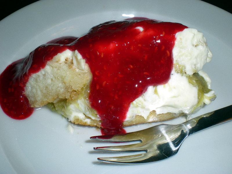 Rabarbertiramisu med hindbær…