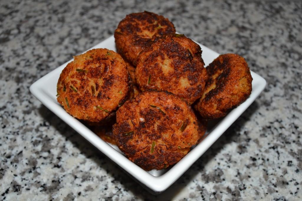 Crab Cakes…