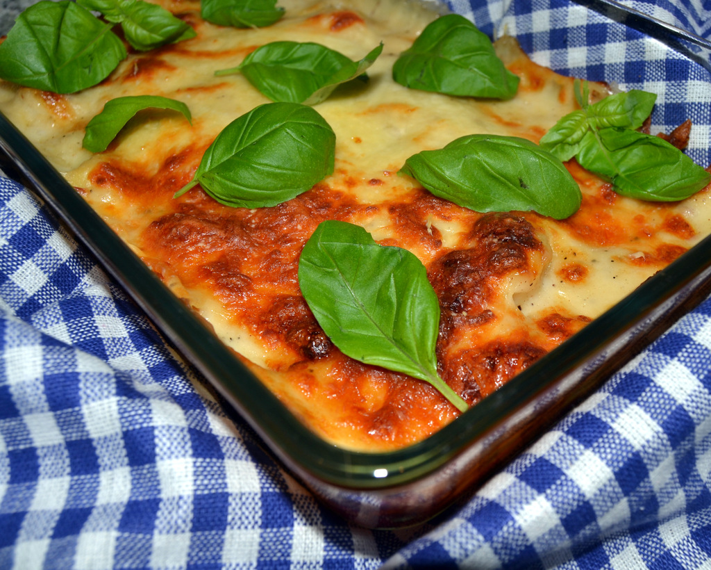 "Gnocchi a la ""Mac n' Cheese"" med lufttørret skinke…"