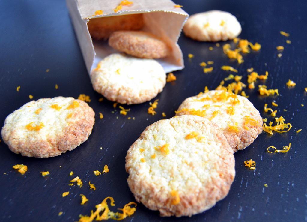 Cookies med kokos og appelsin…