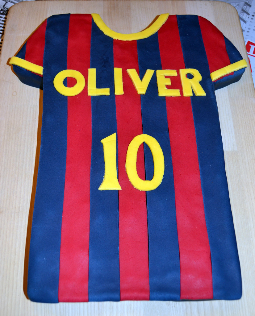 FC Barcelona kage…