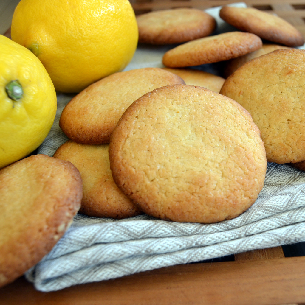 Super simple citron cookies…