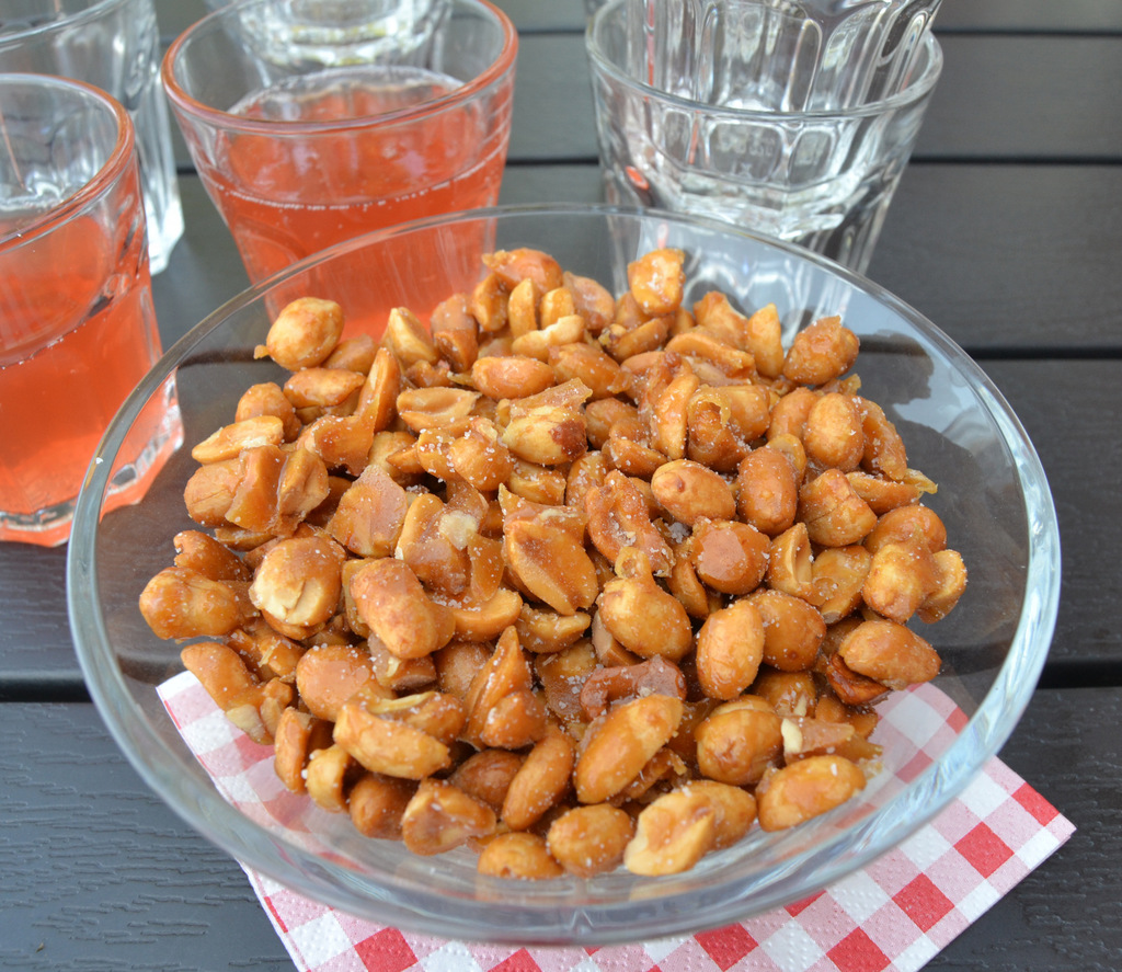 Honningristede peanuts…