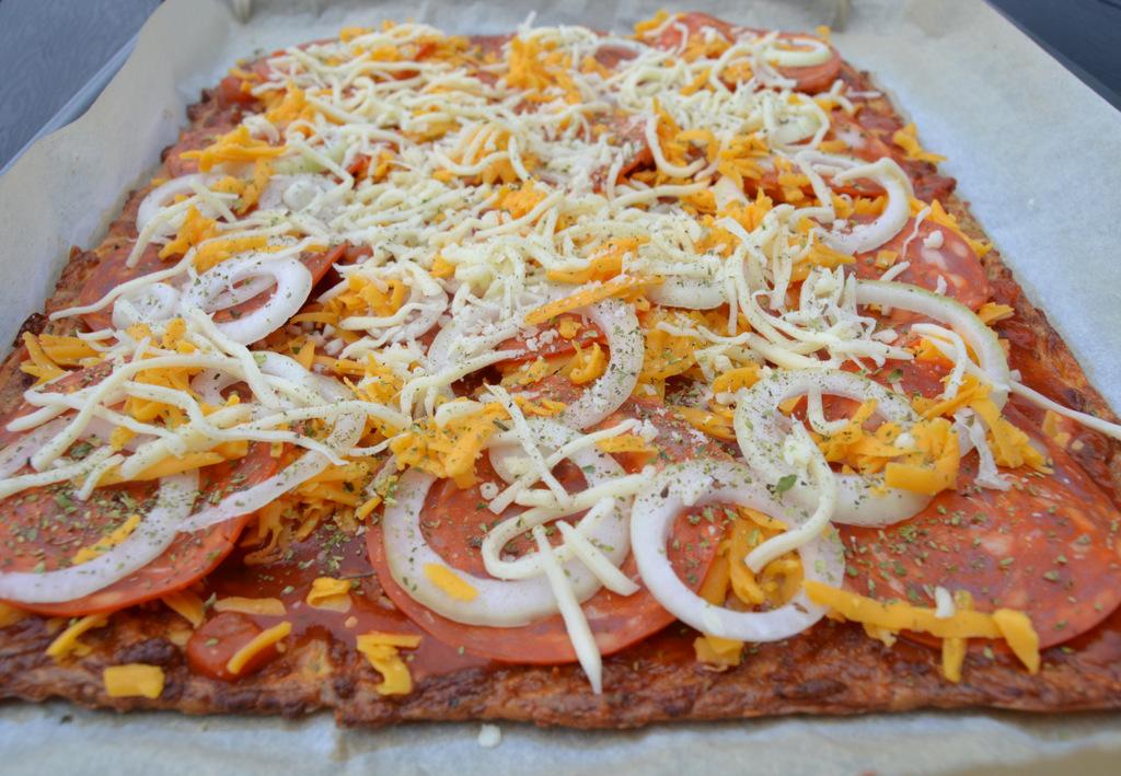 LCHF – Pizza…