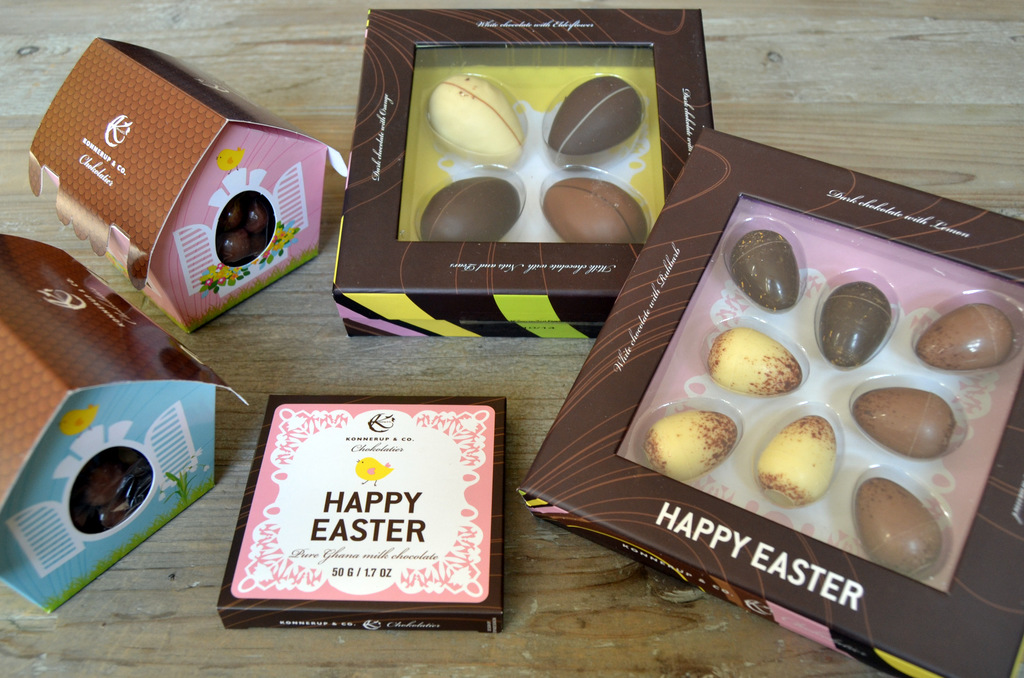 Skøn påskechokolade fra Konnerup & Co…