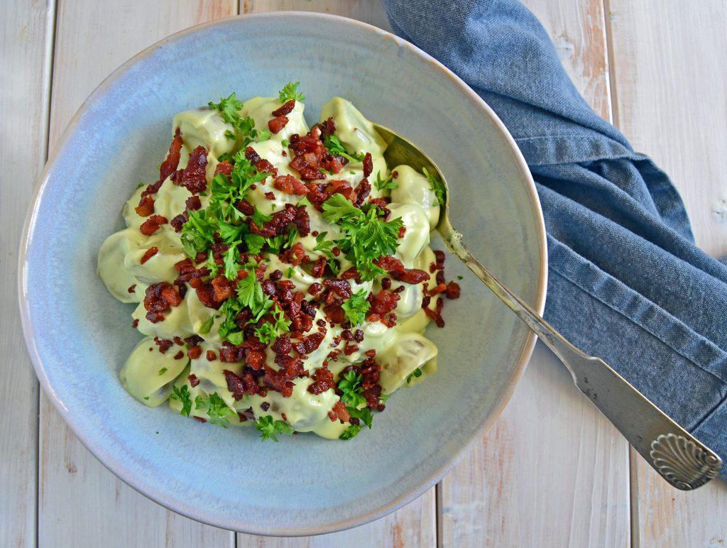 Kartoffelsalat med avocado…