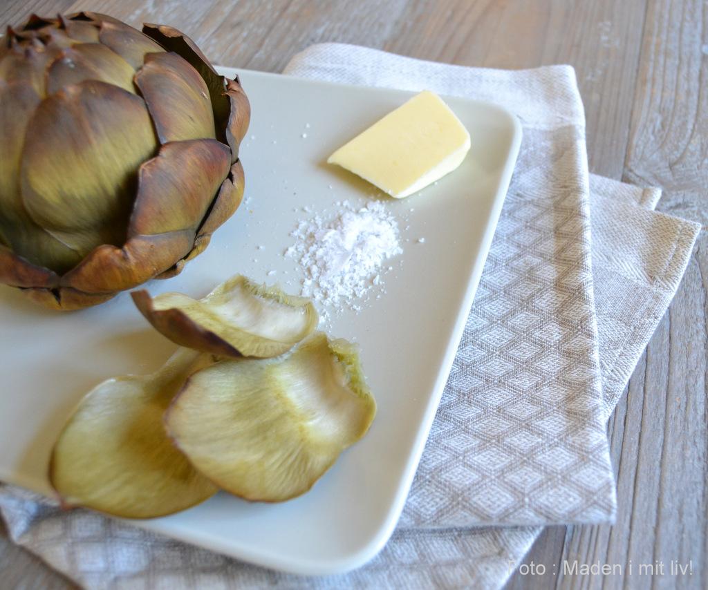 Grillet artiskok med smør…