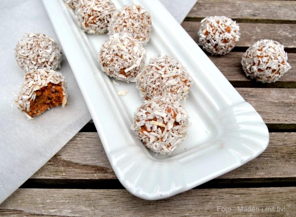 Carrot cake bites…