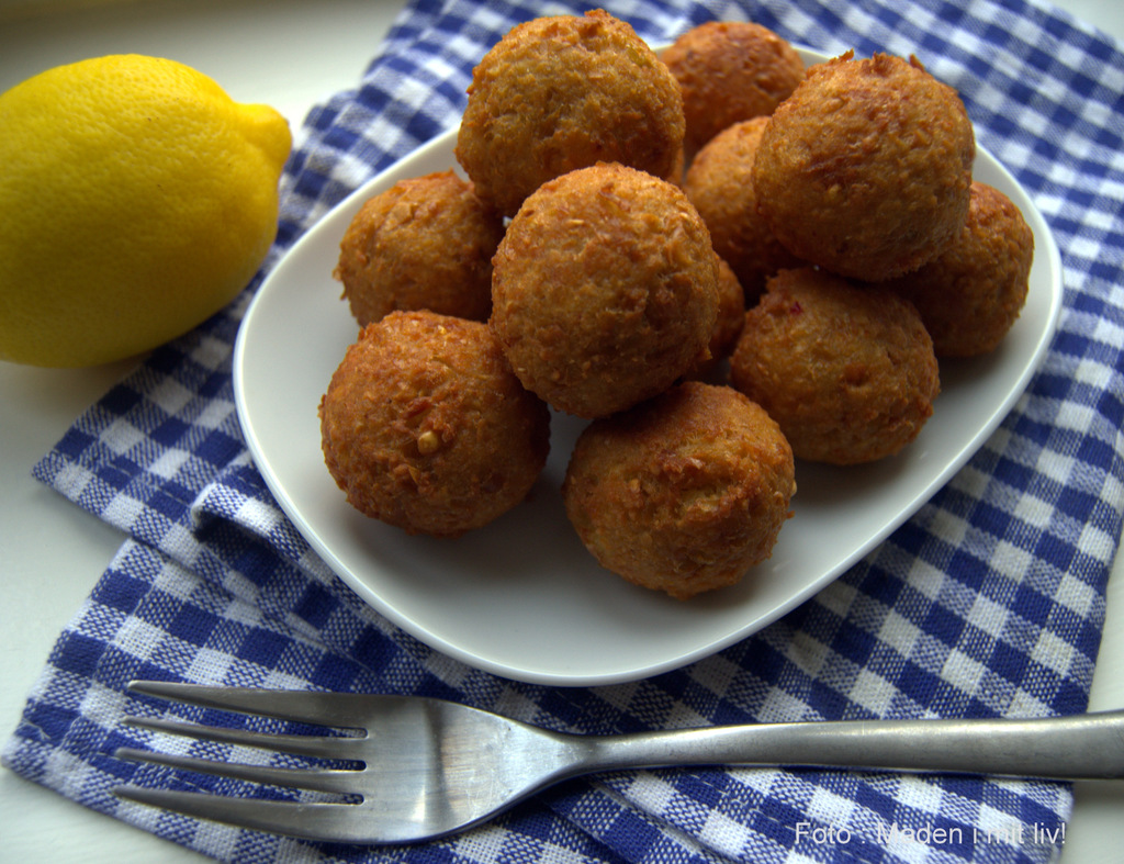 Forrygende sprøde og lækre falafler…