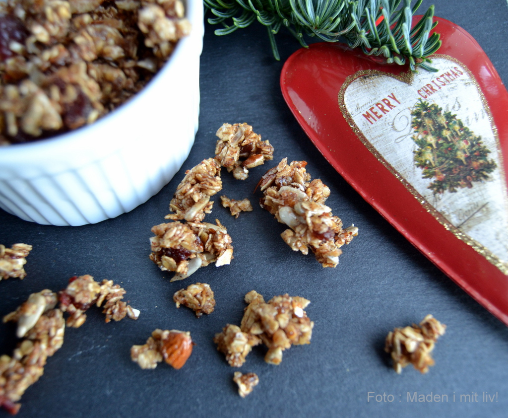 15. december – julekrydret granola…