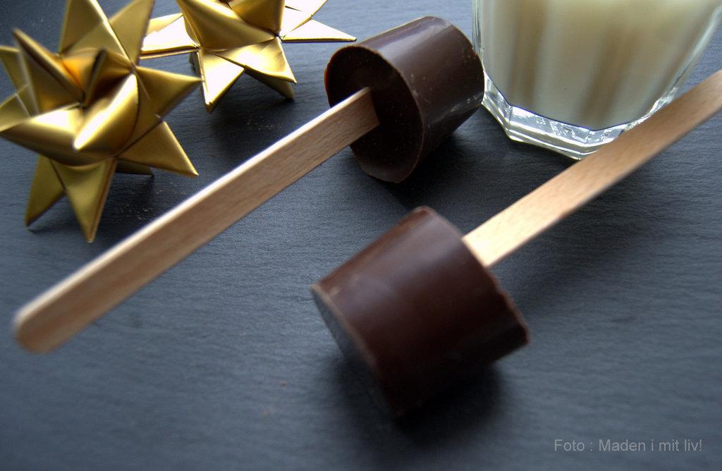 Chokoladepinde til varm chokolade…