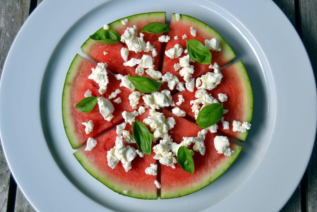 Vandmelonsnack med feta (1)
