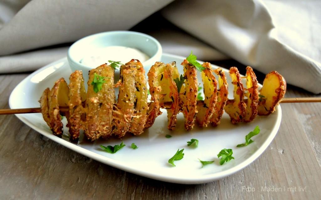 Kartoffel-twistere med parmesan og hvidløg…