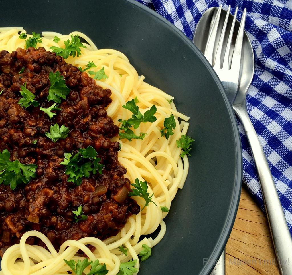 Spaghetti bolognaise – i vegetar udgaven…