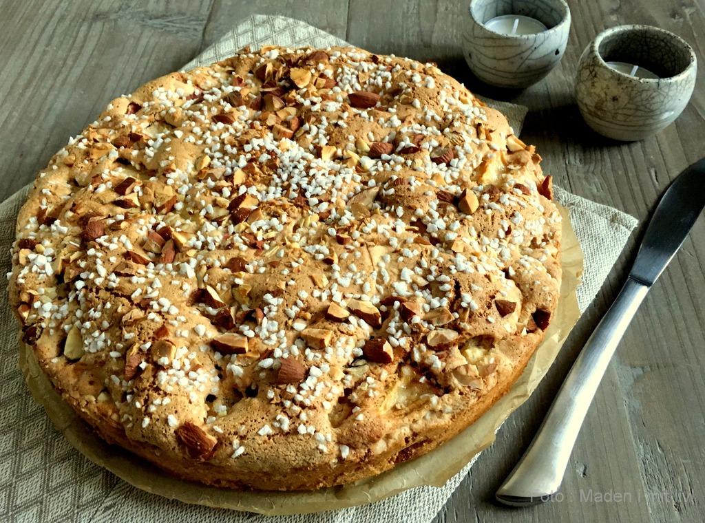 Æblekage med kanel – den nemmeste opskrift…