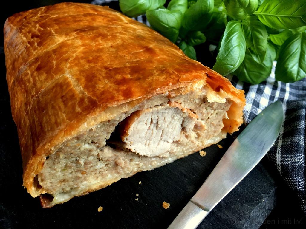 Lækker indbagt mørbrad med butterdej…