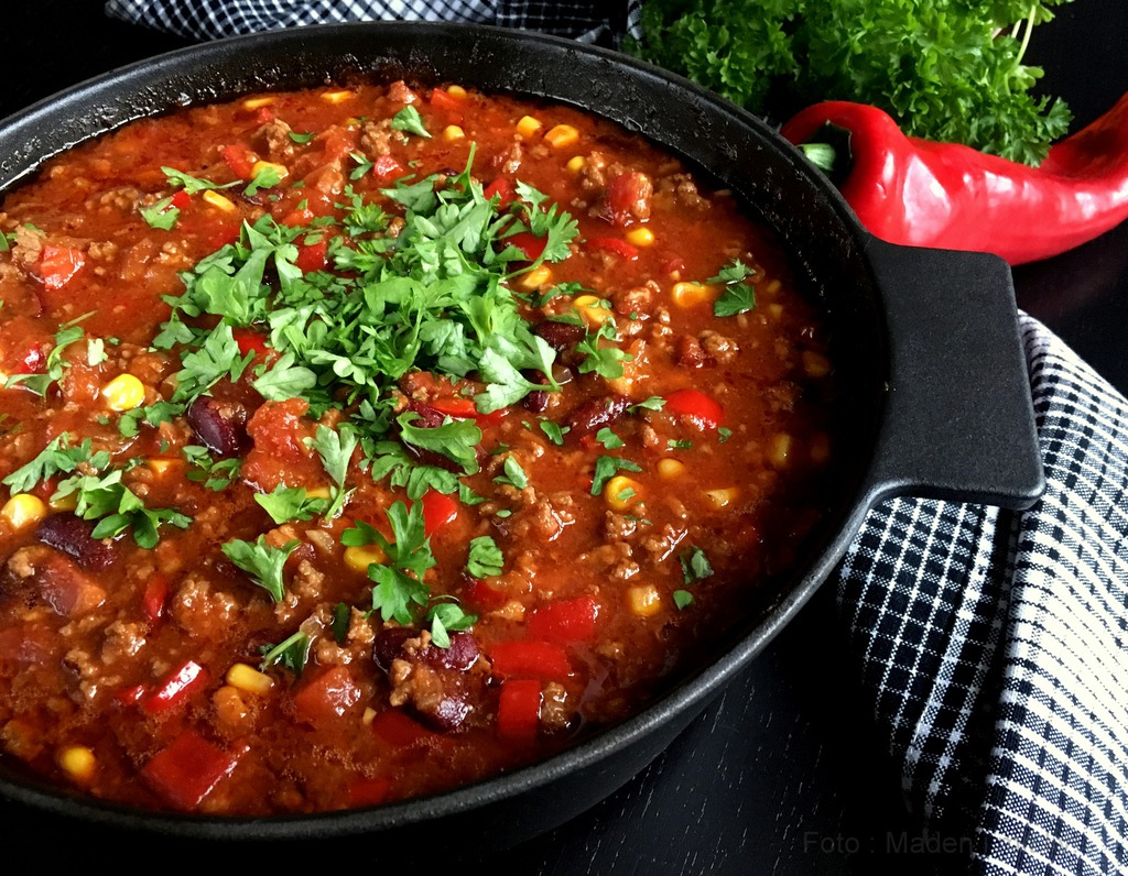 Chili con carne (i ovn)…
