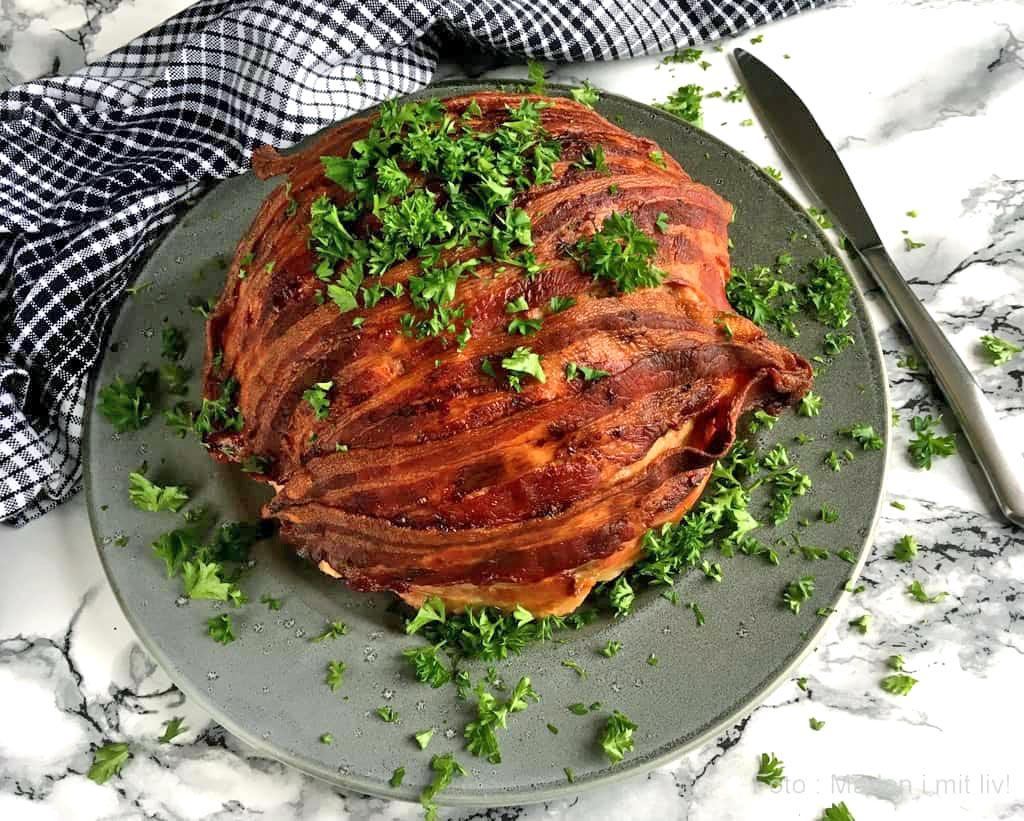 Farseret blomkål med bacon…