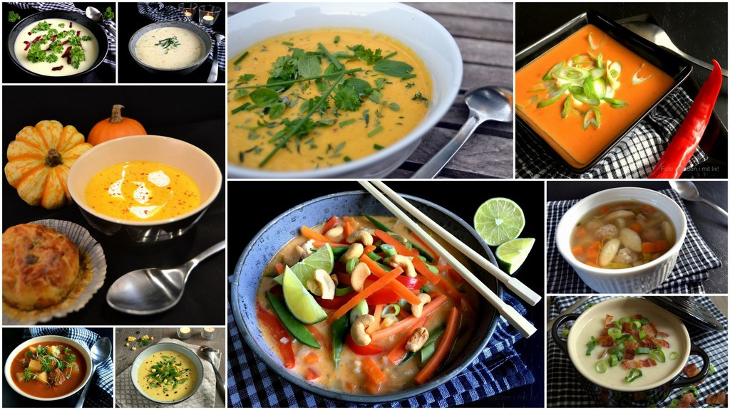 Suppeopskrifter – alle mine bedste supper…