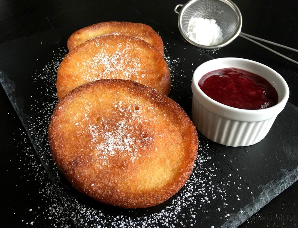 Tykke Ærø pandekager (Løwtens paa'kar)…