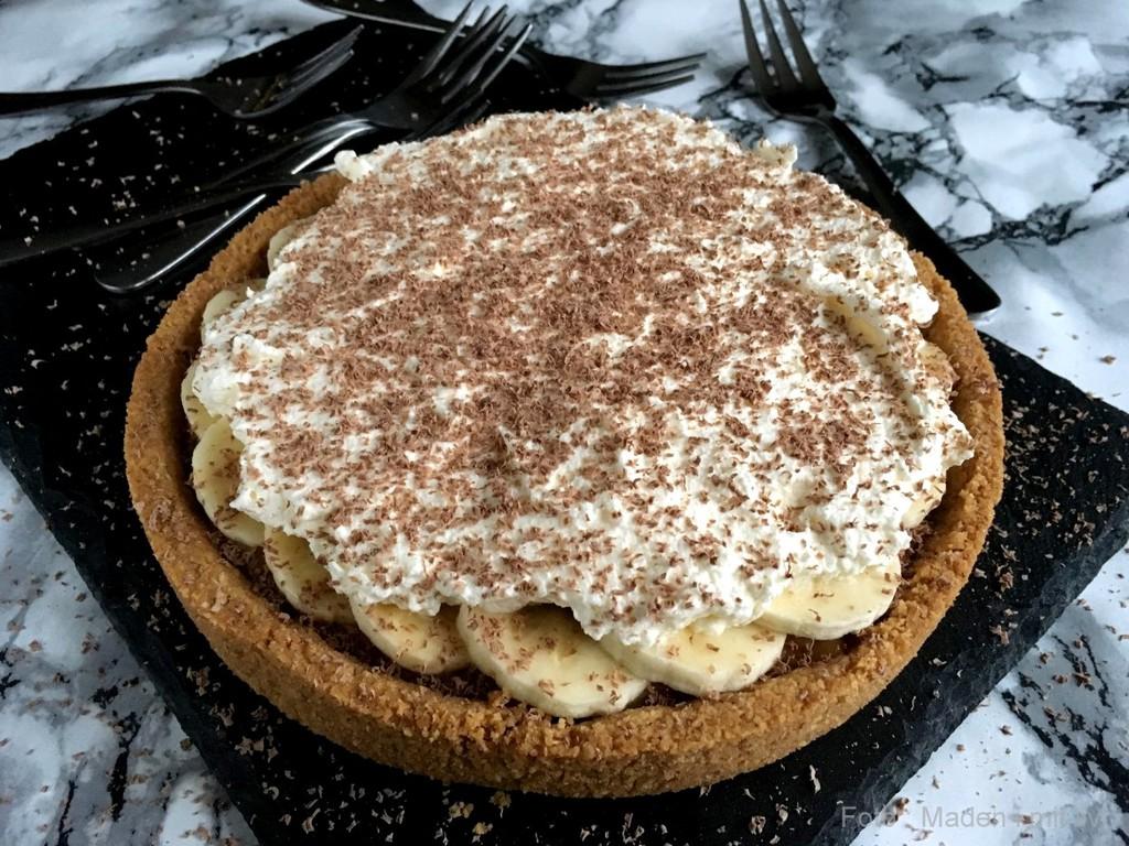 Banoffee pie – karameltærte med banan…