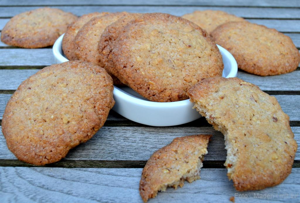 Sprøde kanelcookies…