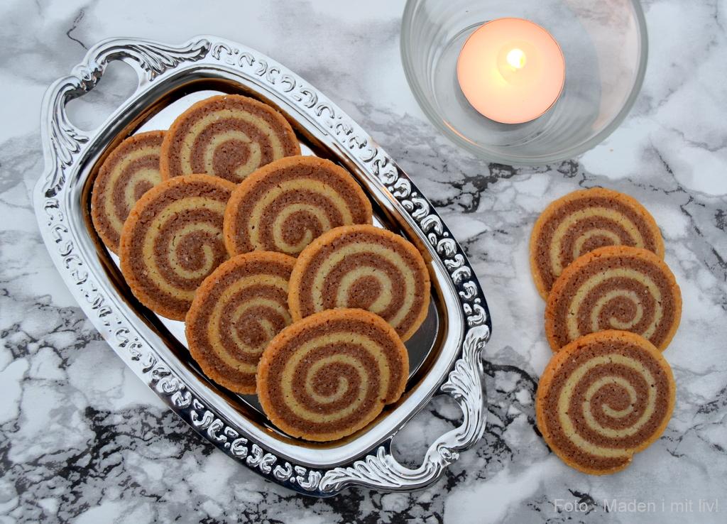 Sprøde spiral småkager…
