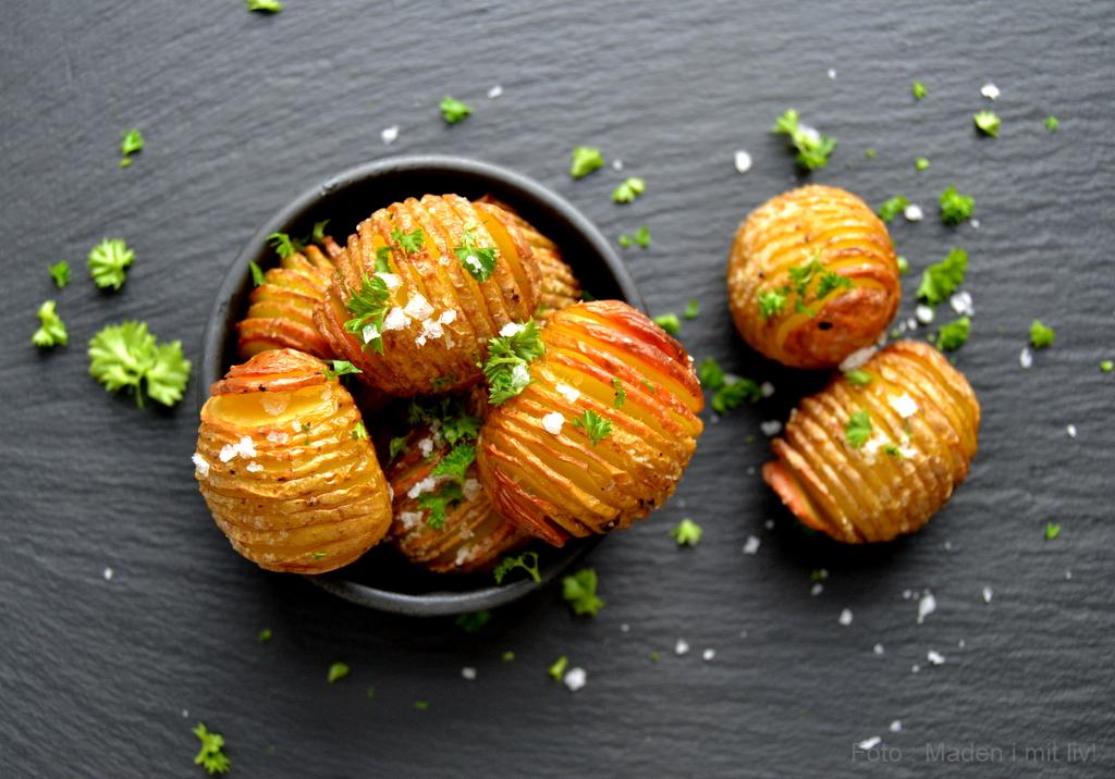 Mini hasselback kartofler…