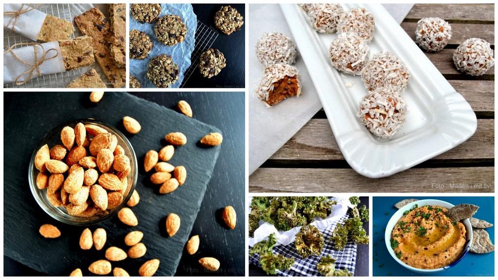 15 lækre sundere snacks…
