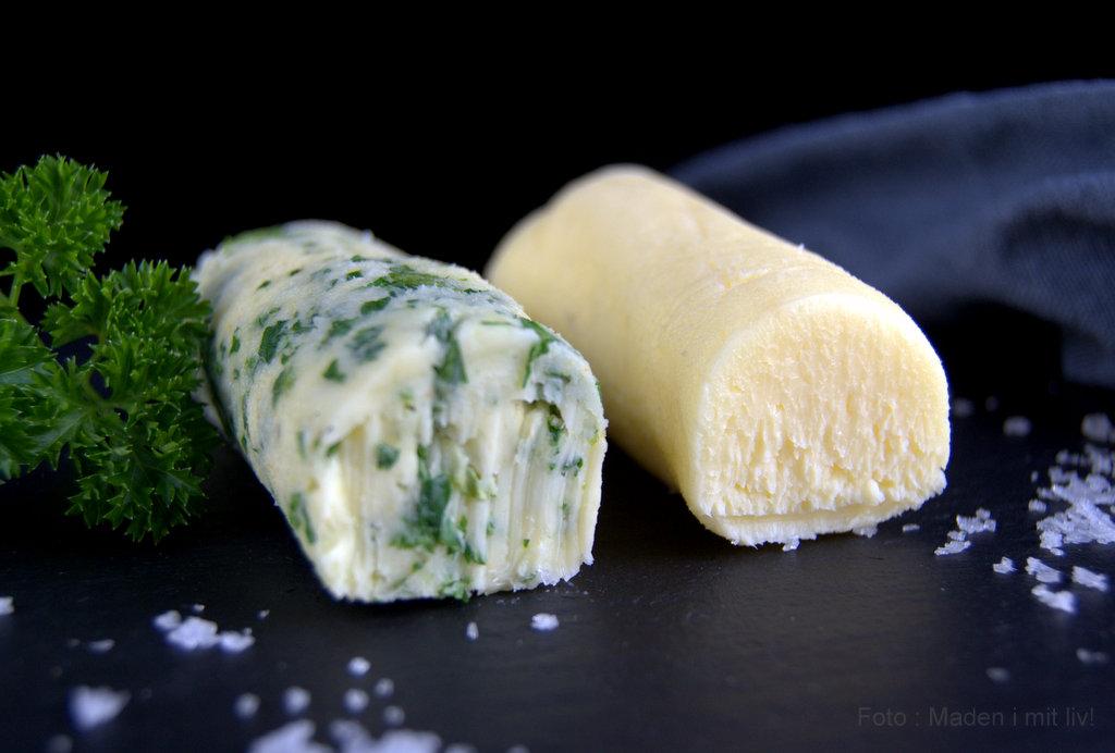 Hjemmelavet smør…