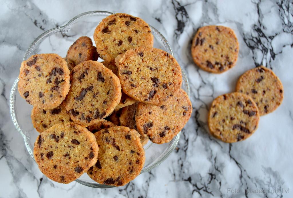 Choko-orange småkager…
