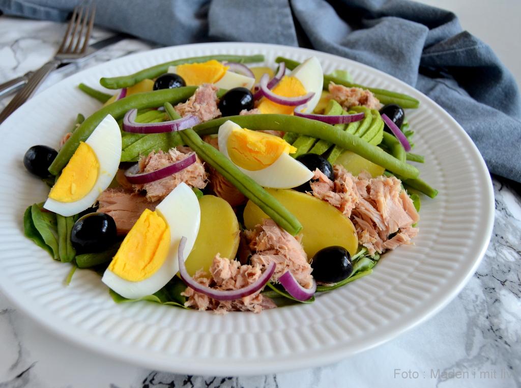 Salade nicoise med tun…