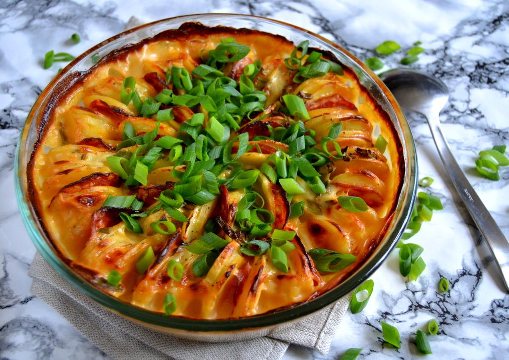 Kartoffelfad med chorizo…