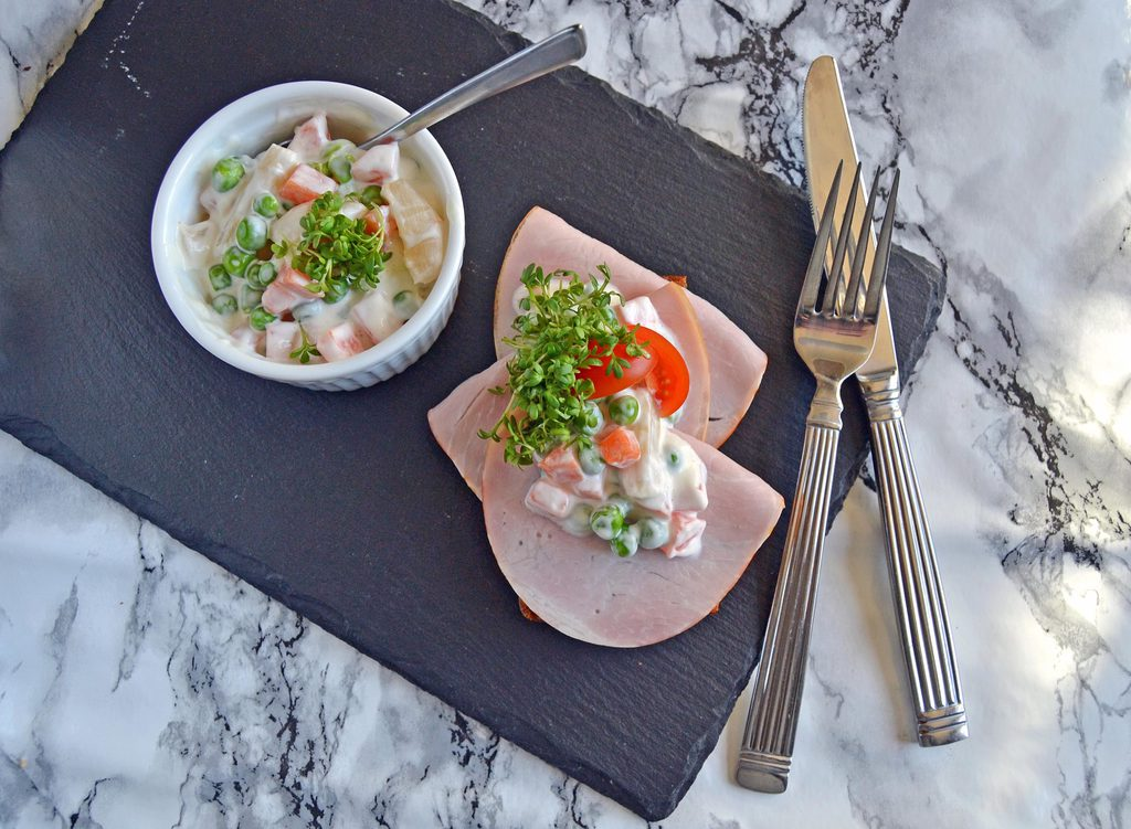 Hjemmelavet italiensk salat…