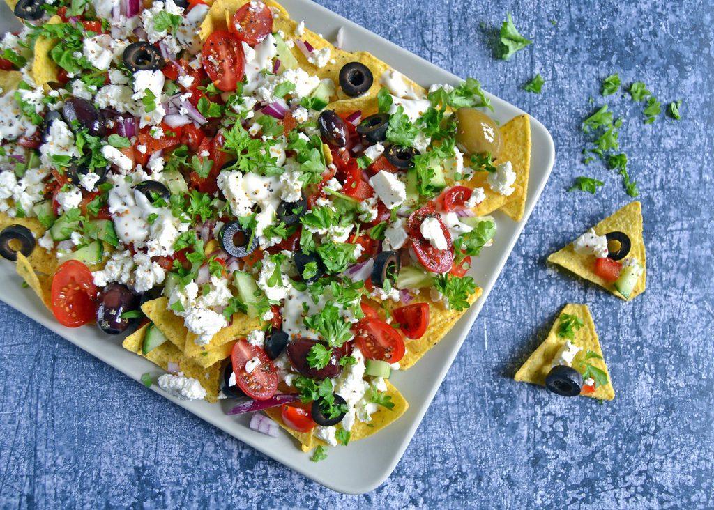 Græske nachos…