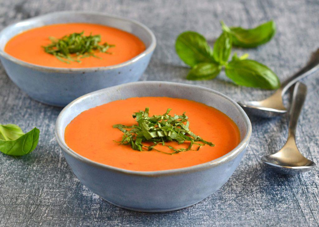 Peberfrugtsuppe – mild og lækker suppe.
