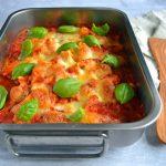 Cannelloni med spinat og ricotta ost