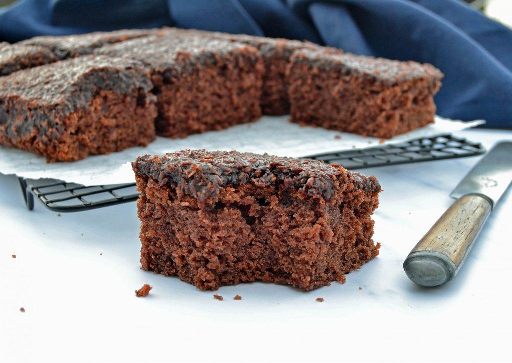 Den du ved nok – lækker chokoladekage med kokos.