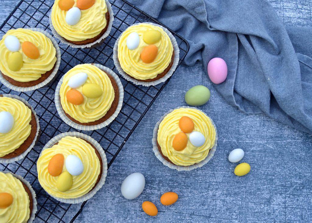Påskemuffins – fine muffins til påske.