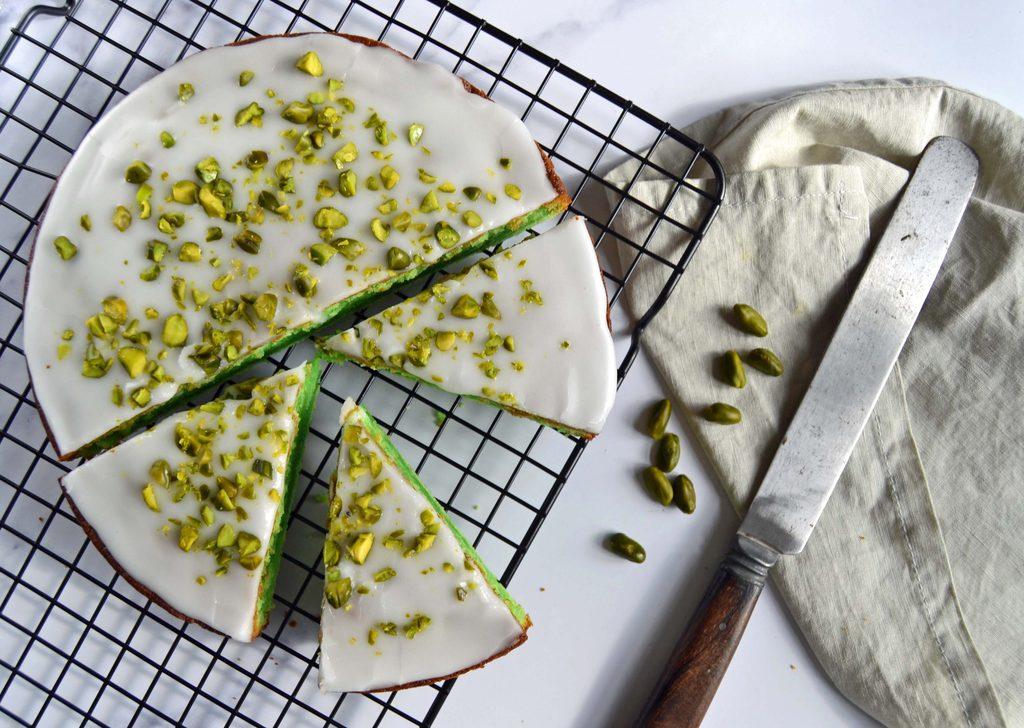 Pistaciekage – nem opskrift på kage med pistacie.