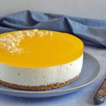 Cheesecake med citron og kiksebund