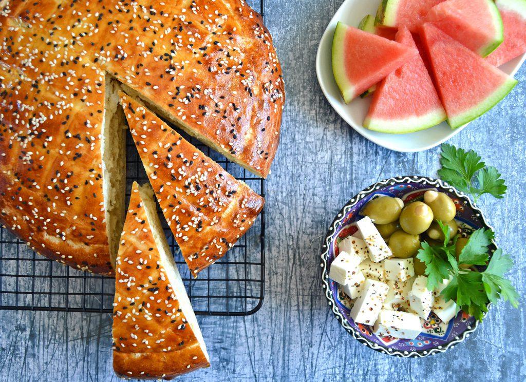 Tyrkisk brød – nem opskrift på madbrød.