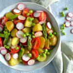 Kartoffelsalat med olie og eddike