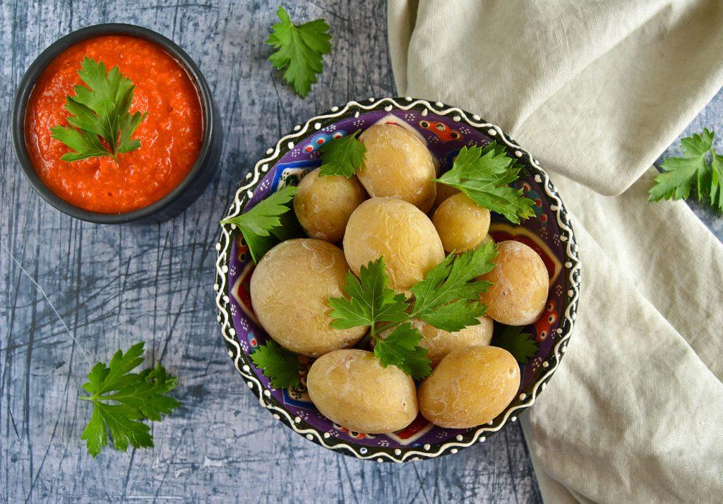 Saltkartofler – opskrift på kanariske salt kartofler.