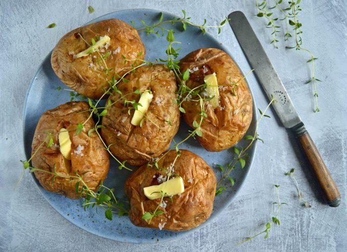 Bagte kartofler